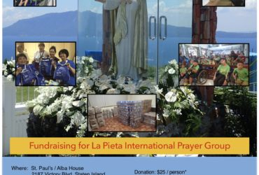 Fundraising for La Pieta International Prayer Group