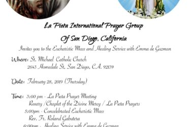 Eucharistic Mass & Healing Service – San Diego, CA